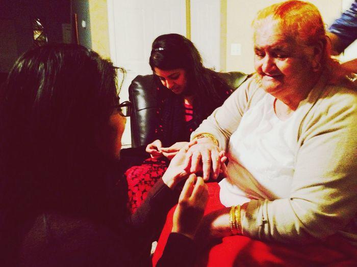 """She said """"YES""""!!!! Haha grandma is precious!"""
