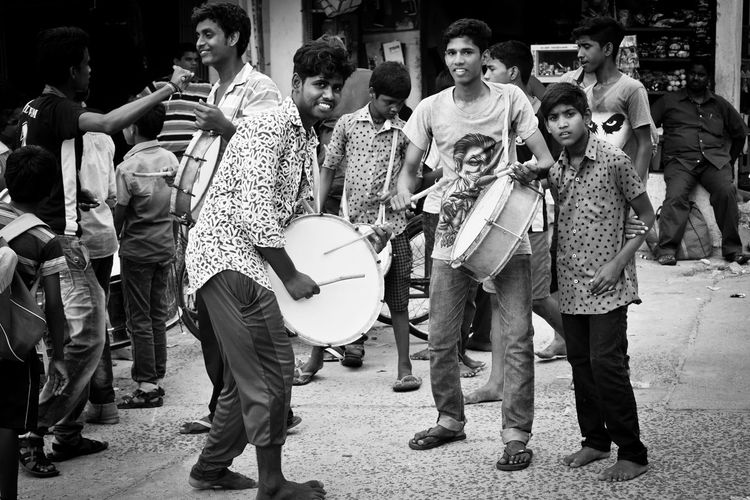 My Click Drummer Street Photography Arts Culture And Entertainment Fun Boys Will Be Boys Full Length Outdoors
