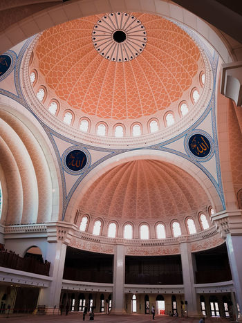 mosque Place Of Worship City Arch Museum History Architecture Architectural Design Architectural Design Architectural Design Architecture And Art Mosaic Architectural Detail Ceiling Arched Hanging Light