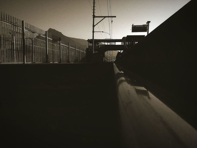 Urban structures Bridge - Man Made Structure Outdoors Architecture Photograph Cape Town Mountain