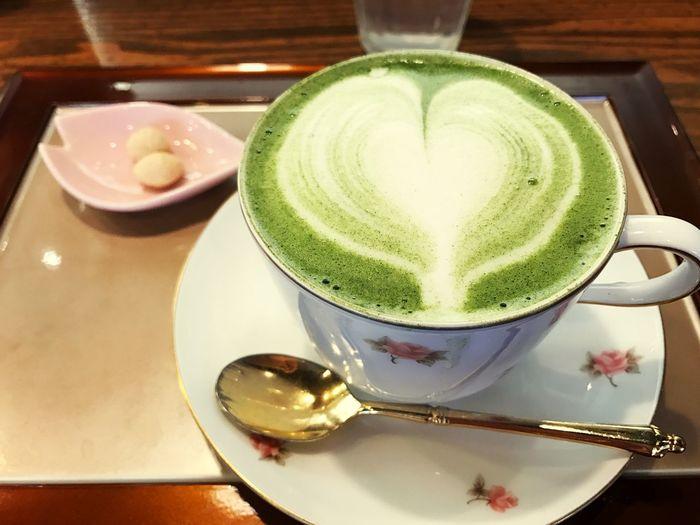 Cafe 抹茶カプチーノ