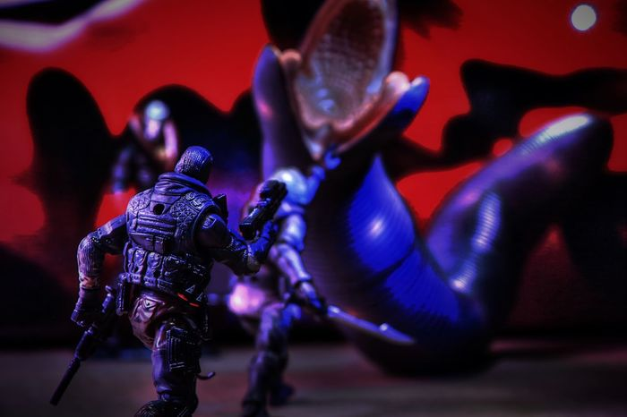 To shoot or not to shoot Cobra Gijoe Dune Sandworm Beachhead Destro  Arrakis Acidrainworld Acidjoe Toys Toyphotography Actionfigures Actionfigurephotography Toy_nerds Phxtoys Aztoys Phxtoypics Aztoypics Ata_dreadnoughts Epictoyart Plastic Toyjuice