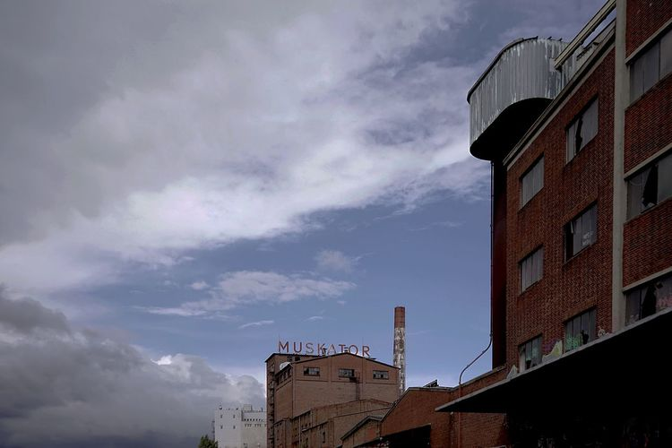 Abandoned Industrial Factorx Building Exterior Architecture Built Structure Building Sky Cloud - Sky Low Angle View Nature No People Tower Outdoors Dusk Day Brick