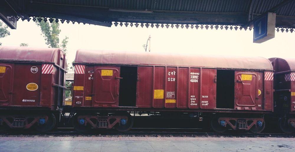Freight Trains Induan Railways Patiala Railway Station