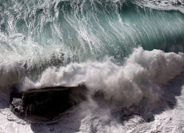 Motion Power In Nature Wave Breaking Crash Sea Force Rough Hitting Nature Water RISK Impact No People Day Beauty In Nature Outdoors Close-up