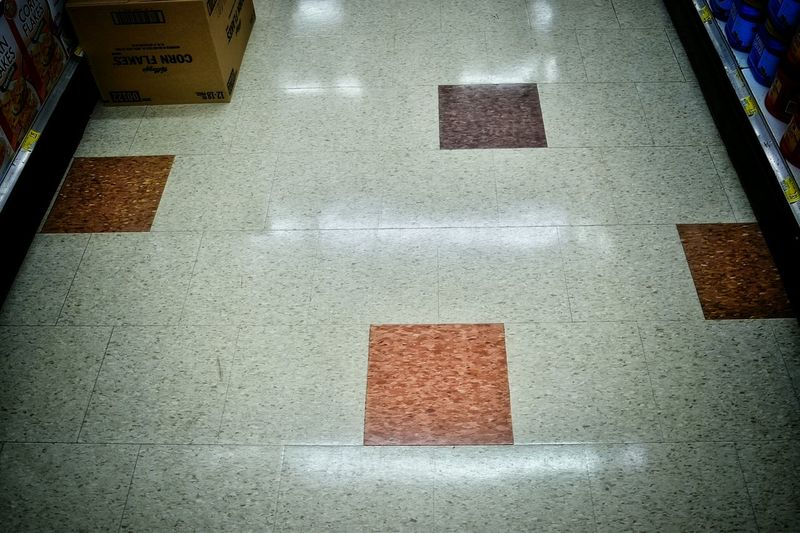 Store Instore Floor Design Square Grocerystore Grocer Grocery Pattern Shopping Pattern Pieces