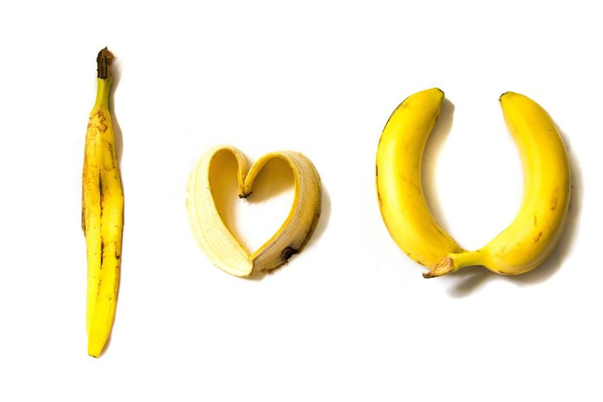 I love you Bananas Banana Love Yellow Fruit Fruits Market Reviewers' Top Picks