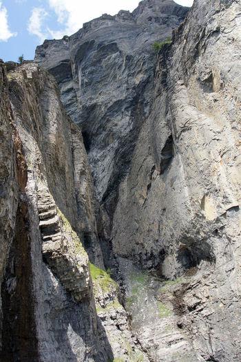Gemmiwand - Leukerbad - Wallis - Schweiz Beauty In Nature Cliff Extreme Terrain Gemmi Gemmiwand Grey Color Hiking Klimbim Landscape Leukerbad Rock Schweiz Swiss Alps Switzerland Tourism Tourist Attraction  Tourist Destination Wallis