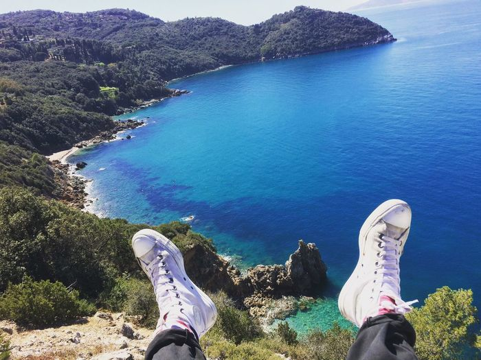 Converse Sea Sky Tuscany Sunny Day Dayoff Freedom First Eyeem Photo