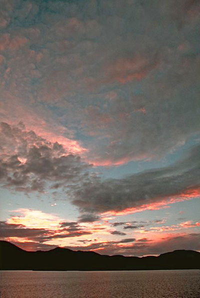 Sunset over Tahiti - French Polynesia French Polynesia Papeete Beauty In Nature Cloud - Sky Day Dramatic Sky Landscape Multi Colored Nature No People Outdoors Red Scenics Silhouette Sky Sunset Tahiti Sunset Tranquil Scene Tranquility Water