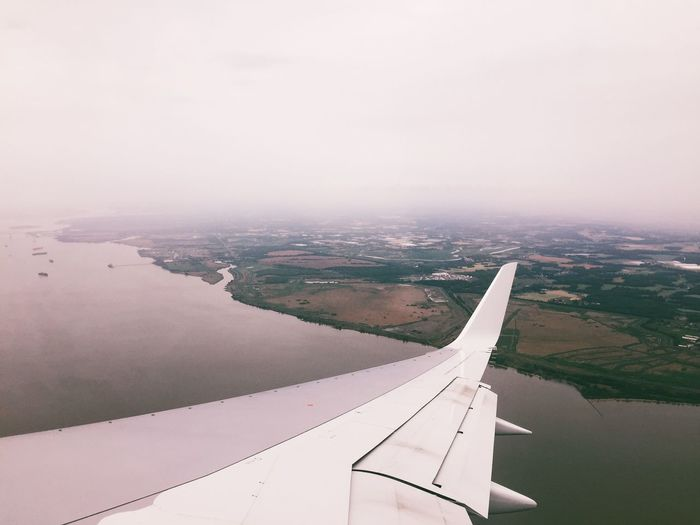 Back home. On A Plane Check This Out VSCO Landscape