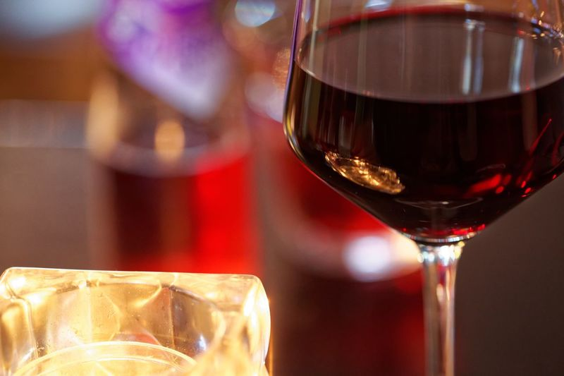Wine night out. Wine Wineglass Alcohol Drink Refreshment Red Wine Food And Drink Focus On Foreground Close-up Drinking Glass Alcoholic Drink No People Red Half Full Relaxing Time Night Out Night On The Town