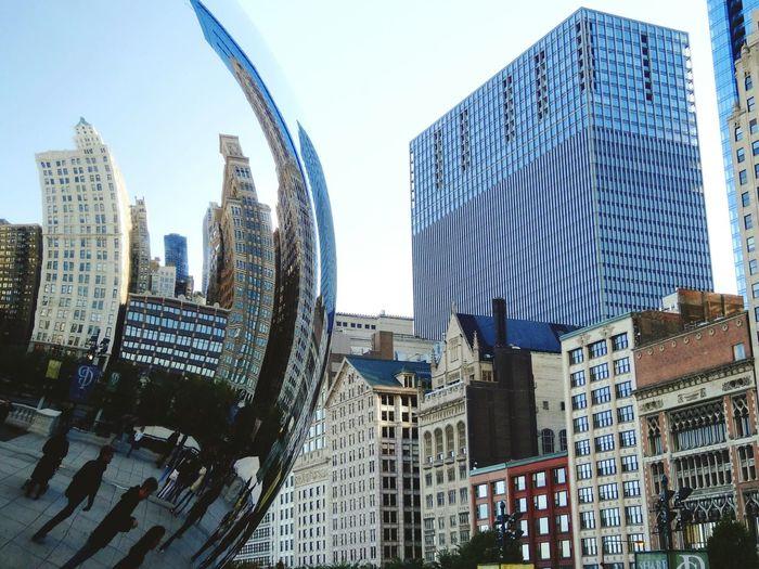 Chicago USA Chicagoshots Cloud Gate Millenium Park OpenEdit Perspectives