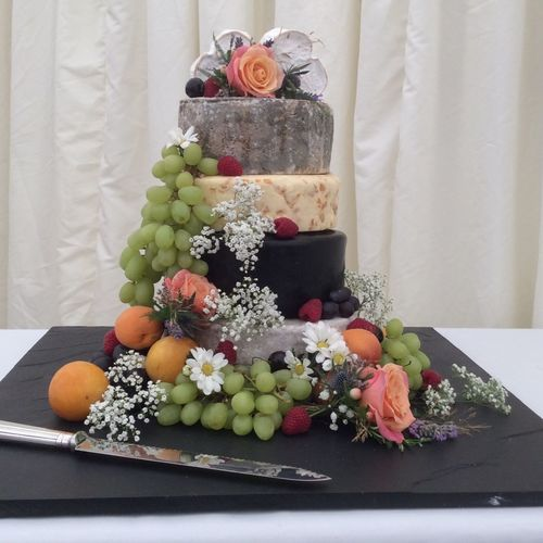 Cheese wedding cake! Food Fruit Cheese Wedding Gourmet Inthedeli