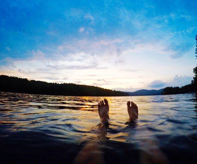 Loon Lake Lake Sunset