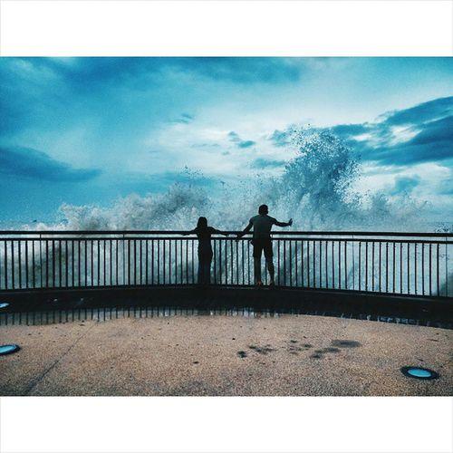 """let the waves crash over me"""