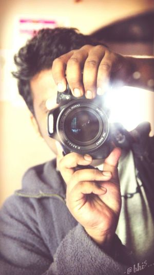 ^_^ Cool self )( morror Click Be Crazy, Be Happy!!  Be Cool  Camera Selfie