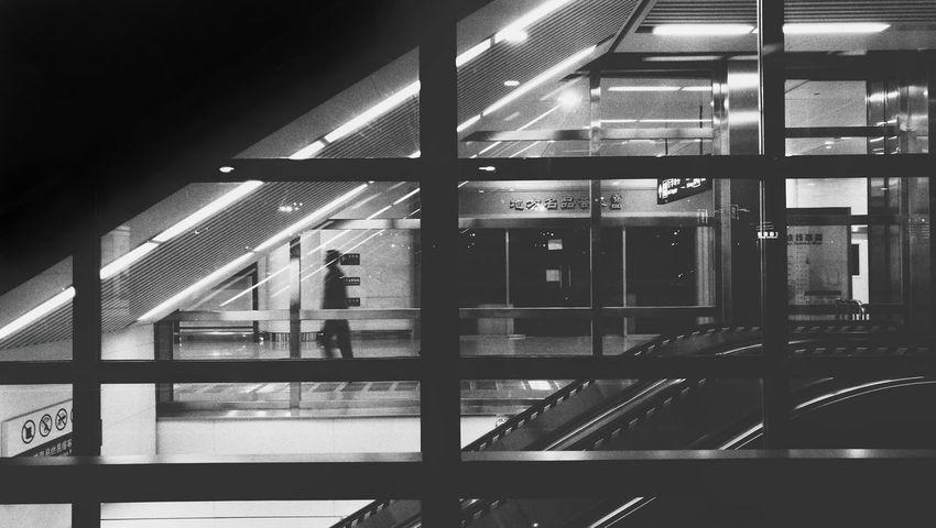 黑白 机场