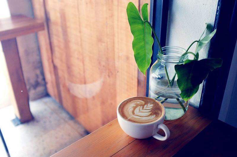 Caffè latte on
