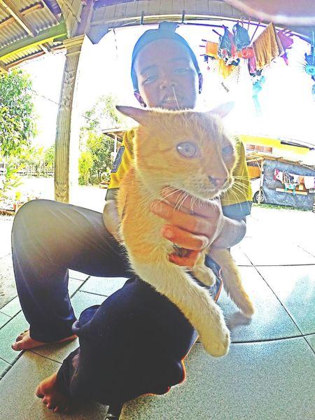 ?? Cat Lovers Gopro Kuala Terengganu VillagePeople Hometown My Cousin Jebat Like4like Amazing Place Holiday