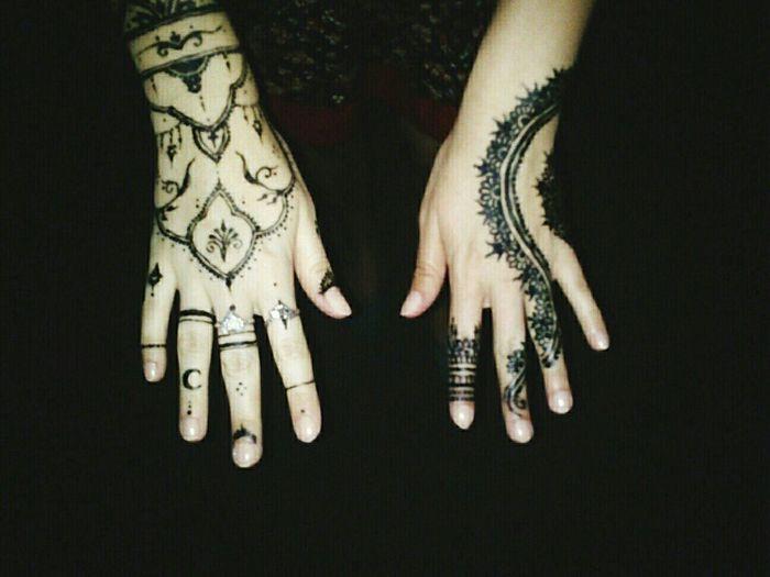 Mehendi Hands Pattern Arabic Night