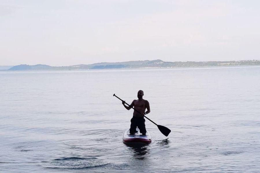 Water Oar Sea Men Nautical Vessel One Person Adventure