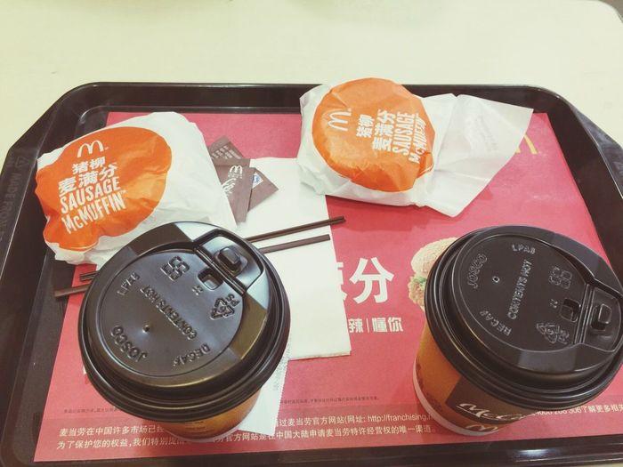 breakfast with Yvonne