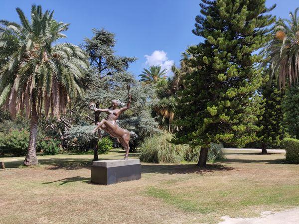 """""""Miti mediterranei"""", la mostra di Alba Gonzales nel verde di villa Malfitano Villa Malfitano Palermo Albagonzales Mostra Tree Sky"""