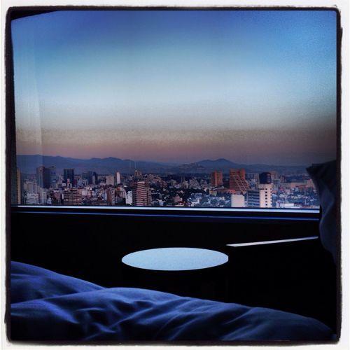 Hotel Room & Morning Sun by Popckorn