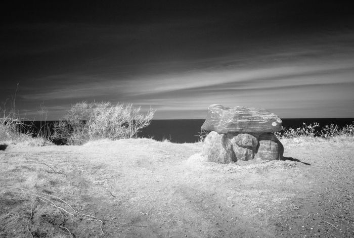 Ancient Infrared Worship Beauty In Nature Day Field Grass Landscape Men Nature Outdoors People Scenics Sky Stoneage Water