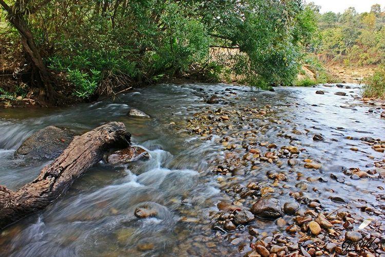 Khasi_beauty Meghalaya Umkhen. River View Rivers River Collection Riverwalk Riverscape River Bank