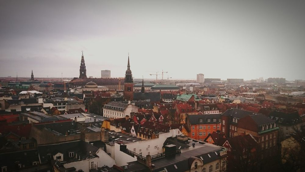Copenhagen Sightseeing Denmark Tourists City Historical Sights Being A Tourist Contrast Enjoying Life First Eyeem Photo Wintertime Theroundtower