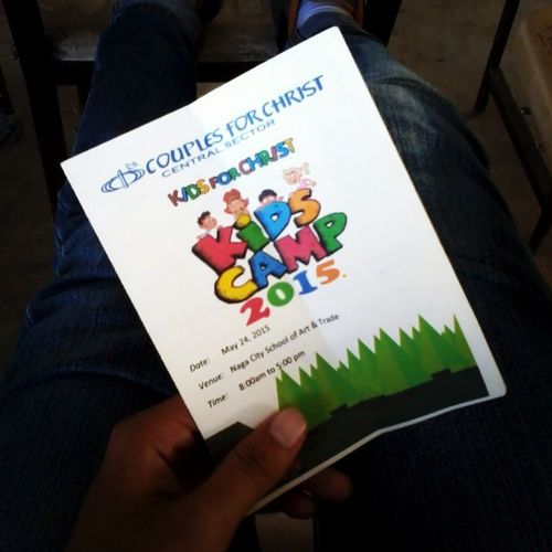 KidsForChrist Kids Camp at Sabang High School today! Yay! Tyl