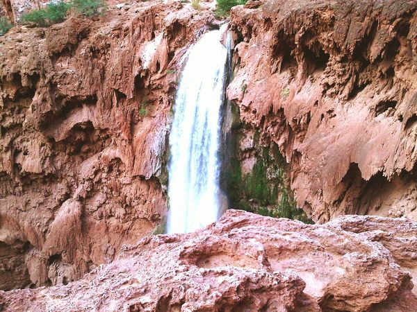 Mooney falls Havasupai Blackberryphoto Travel Eyeem Travel Arizona Landscape_photography Hiking Waterfall Nature Ladyphotographerofthemonth The Great Outdoors With Adobe