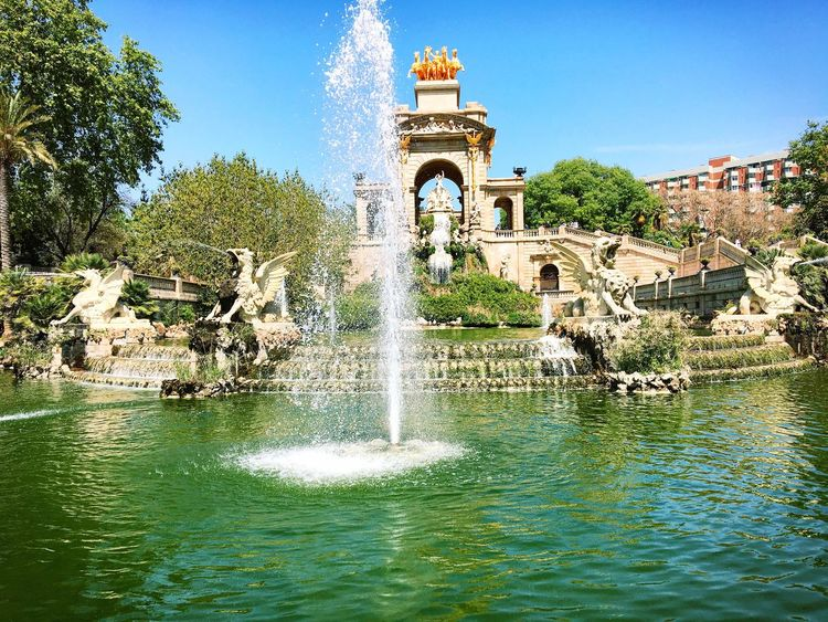 Fuente del parque de la ciudadella de Barcelona. Natural Beauty Nature_collection Nature Hello World My Favorite Photo Barcelona Fuente