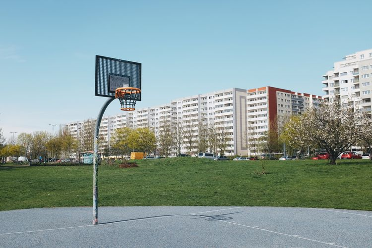 Sport Sky Building Exterior Grass Architecture Nature Built Structure Basketball - Sport Basketball Hoop