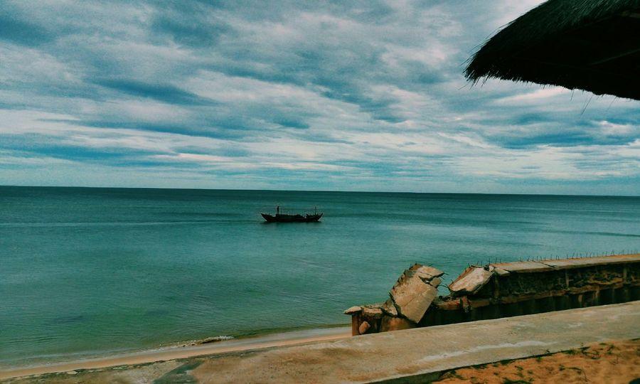 Relaxing Summer Beach HDR