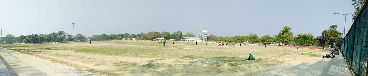 sports Cricket Field EyeEm Best Shots Eyembestshots EyeEm Masterclass Followforfollowalways Market Tree Clear Sky Sport Sky