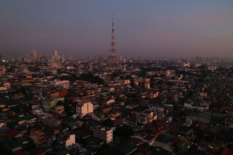 city. Smog Philippines Manila Perspective Top View Roof Street Horizon View From Above View Lights House EyeEmNewHere Building Exterior Architecture Built Structure City Building Cityscape Tower Skyscraper Sky Urban Skyline Nature Travel Destinations Landscape Crowded