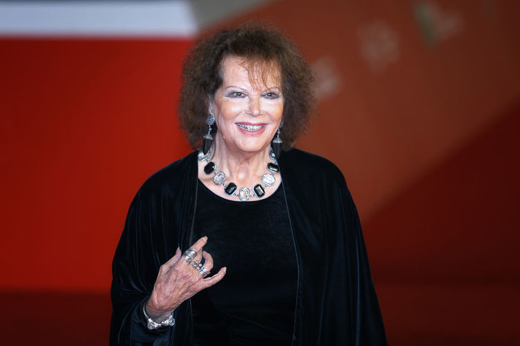 Rome, Italy - October 13, 2016: Rome Film Festival, Eleventh Edition. Red carpet with Moonlight pictured Claudia Cardinale. Actress Adult Adults Only Arts Culture And Entertainment Cinema Claudia Cardinale Famous People Ff11 Italian Actress Mature Adult One Person One Woman Only Only Women Portrait Rome Film Fest Rome Film Festival Senior Adult Smiling