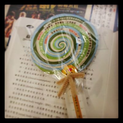 其實我比較想要可以吃的棒棒糖… (・◇・)Lollipop