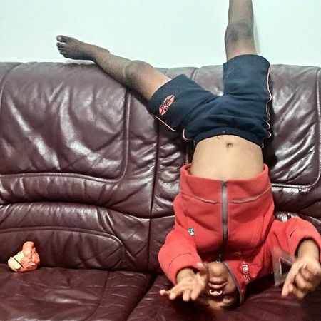 Been chilling with my big homie the whole day. Coolest 4 year old on the planet :) Homie Kid Coolkids Randomphoto disney zombie weird energy fun gymnastics action red