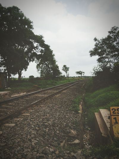 Traveldiaries Train Tracks Destination Unknown Travelshots Naturelove Cloudy Skies Monsoon Diaries Wanderlust Voyager EyeEm Gallery Eyeemindia Indiapictures