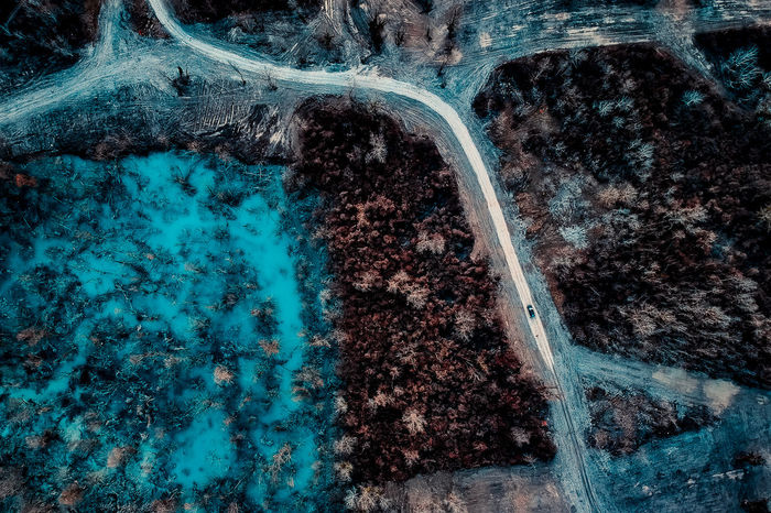 DJI X Eyeem Aerial View Beauty In Nature Dji Spark Nature No People Outdoors Planet Earth Road