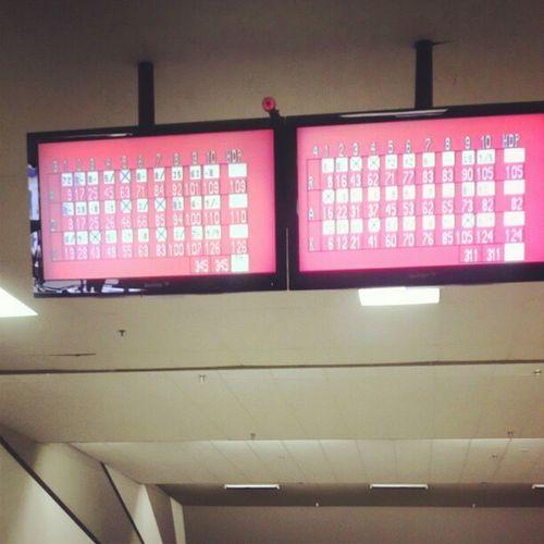 G is 126 ! Holla ! I winnnn! 2claps Jedi Training Winning smile happy bowling class!