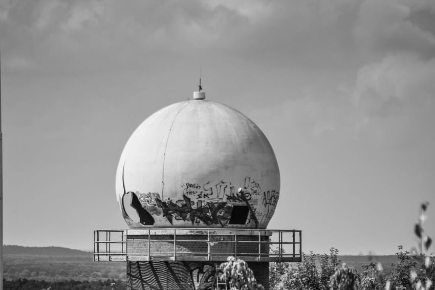 Abhörstation Abhörstation Teufelsberg Berlin Berlin Station Radarstation Trzoska USA Day No People Radar Radar Control Radar Station Radar Tower Spy Teufelsberg Tower