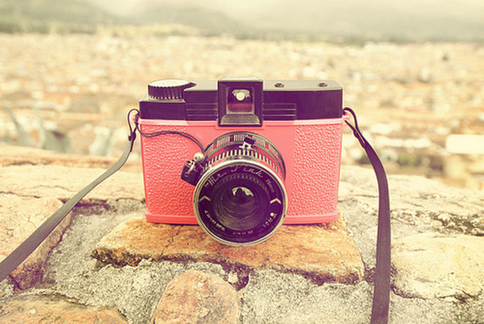 Sweet Pink Beauty Camera