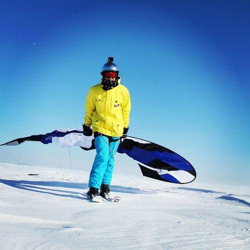 Flashy! Paraski Ski Winter Cold Snow Frozen