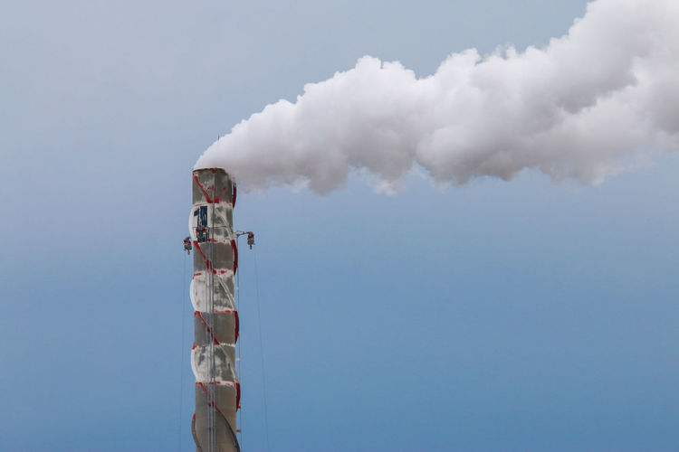 incinerator Smoke - Physical Structure Sky Smoke Stack Pollution Air Pollution Environmental Issues Factory Cloud - Sky Industry Day Environment Building Exterior Nature Emitting Environmental Damage No People Architecture Built Structure Fuel And Power Generation Outdoors Fumes Incinerator