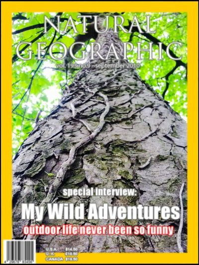my photos on Natural Geographic Magazine (Magazine Photo App)